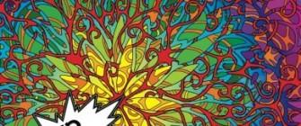 MASHUP Adventure: A Kaleidoscopia Coloring Book: Technorganic Patterns